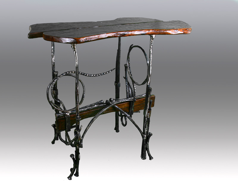 Beautiful Blacksmith Mike Edelman Has Created A Series Of Unique Contemporary Iron  Furniture, Focusing On Chairs, Tables And Benches. Using Traditional  Blacksmithing ...